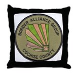 Cochise County Border Allianc Throw Pillow