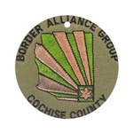 Cochise County Border Allianc Ornament (Round)