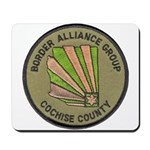 Cochise County Border Allianc Mousepad