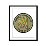 Cochise County Border Allianc Framed Panel Print