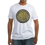 Cochise County Border Allianc Fitted T-Shirt