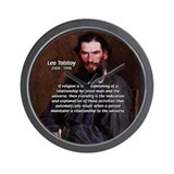Leo Tolstoy Religion Morality Wall Clock
