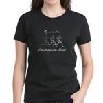 Pheidippides Died! Women's Dark T-Shirt