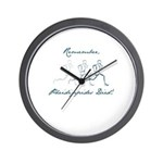 Pheidippides Died! Wall Clock