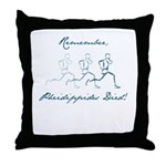 Pheidippides Died! Throw Pillow