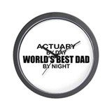 World's Greatest Dad - Actuary Wall Clock