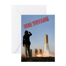 Unique The rocket summer Greeting Card