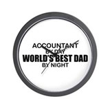 World's Greatest Dad - Accountant Wall Clock