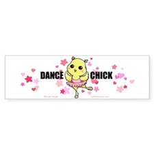 DANCE CHICK Bumper Sticker