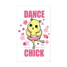 DANCE CHICK Decal