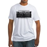 5th Solvay Conference Fitted T-Shirt