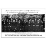 5th Solvay Conference Large Poster