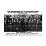 5th Solvay Conference Mini Poster Print