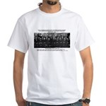 5th Solvay Conference White T-Shirt