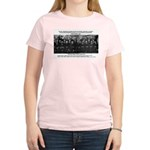 5th Solvay Conference Women's Pink T-Shirt