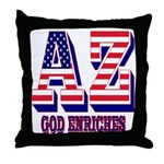 Arizona Throw Pillow