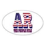 Arkansas Oval Sticker