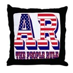 Arkansas Throw Pillow
