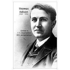 Thomas Edison Inspiration Posters