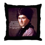 J. J. Rousseau Education Throw Pillow