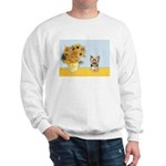 Sunflowers / Yorkie #17 Sweatshirt