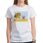 Sunflowers / Yorkie #17 Women's T-Shirt