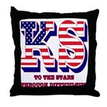 Kansas Throw Pillow