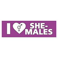 I Love She-Males
