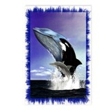 Whales Postcards (Package of 8)