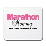 Marathon Mommy Peace Quiet Mousepad