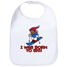 Born to Ski Jacob Bib