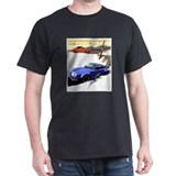 Porsche A series to the 911 Black T-Shirt