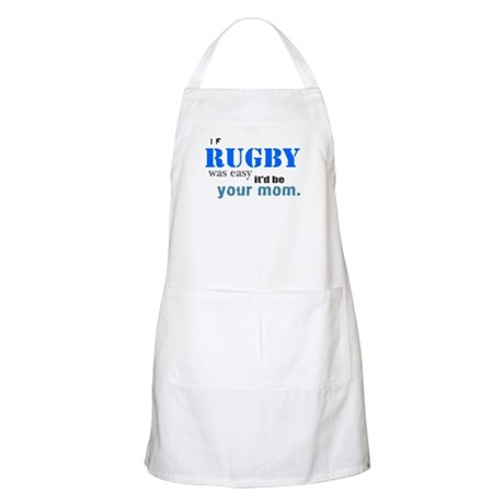 If Rugby Was Easy Apron