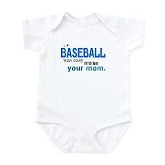 If Baseball Was Easy Infant Bodysuit