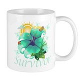 Survivor Flower Small Mug