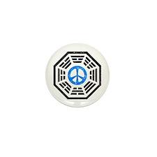Blue Peace Mini Button