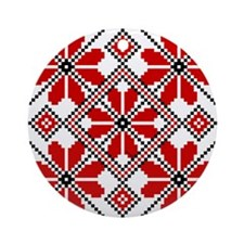 Folk Design 6 Ornament