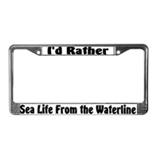 I'd Rather Sea Life From the Waterline