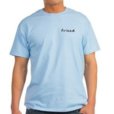FriendT-Shirt (grey, natural, or light blue)