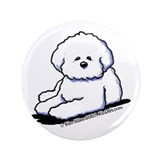 "Bichon Frise 3.5"" Button"