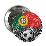 "Soccer Fan Portugal 2.25"" Button (100 pack)"