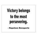 Napoleon on Victory Small Poster