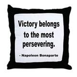 Napoleon on Victory Throw Pillow