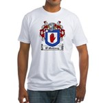 O'Mulrony Family Crest Fitted T-Shirt