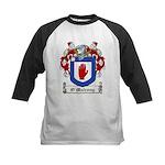 O'Mulrony Family Crest Kids Baseball Jersey