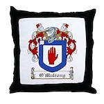 O'Mulrony Family Crest Throw Pillow