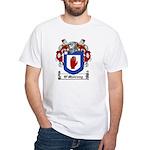 O'Mulrony Family Crest White T-Shirt