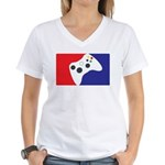 Major League 360 Women's V-Neck T-Shirt