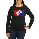 Major League 360 Women's Long Sleeve Dark T-Shirt