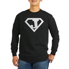 Super White J Logo T